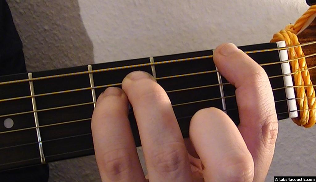 how to play f5 on guitar