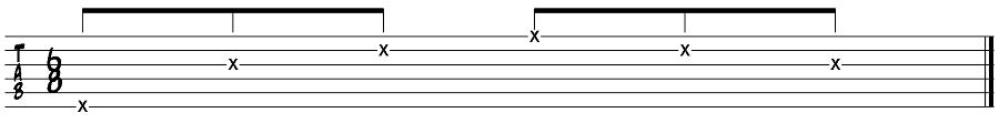 Exemple mouvement d'arpège