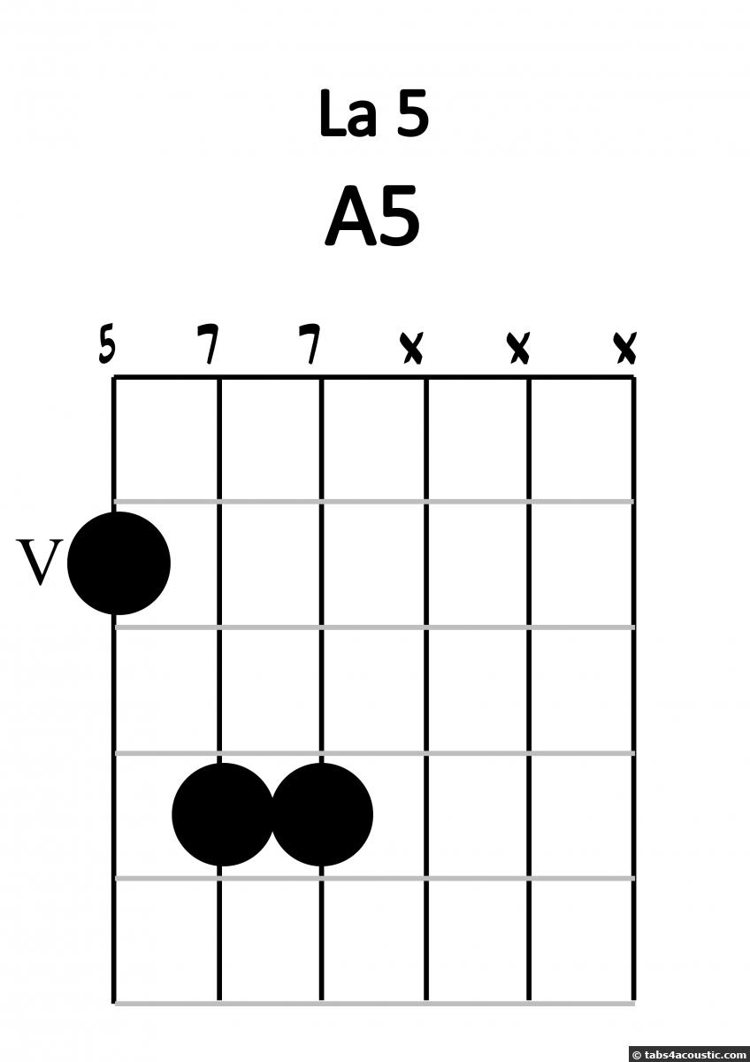 A5 string LA