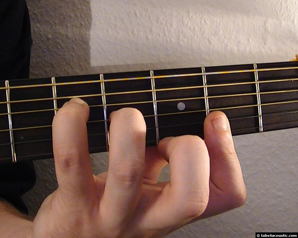 Guitar Chord A13