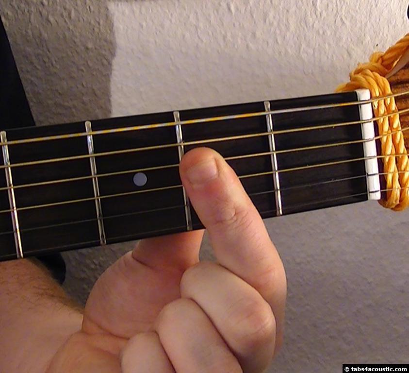 Guitar Chord A6