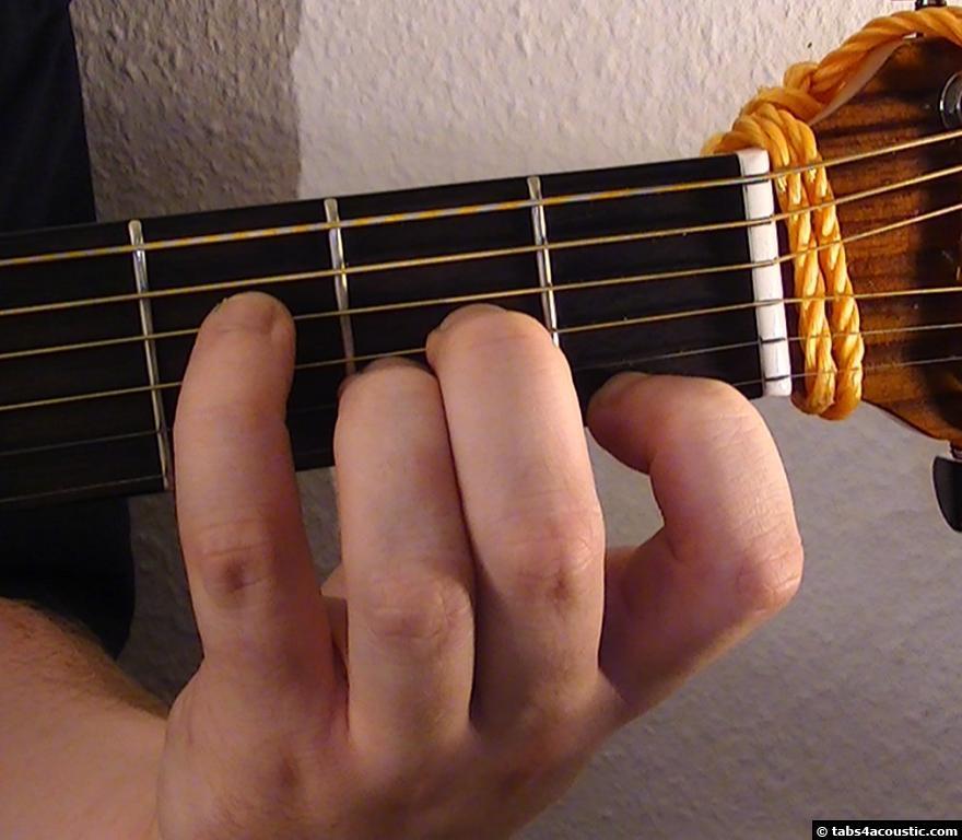 Guitar Chord Aaug