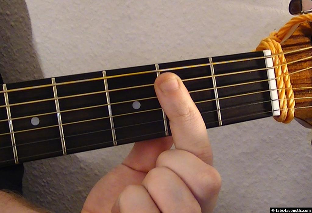 Guitar Chord B11