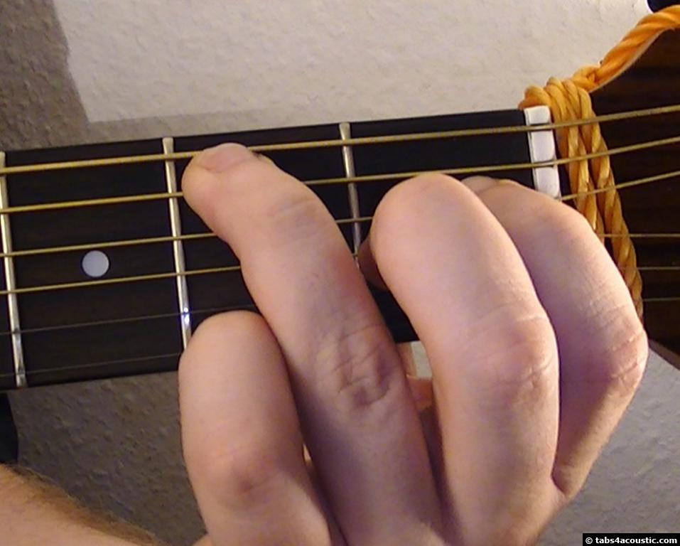 Guitar Chord B6