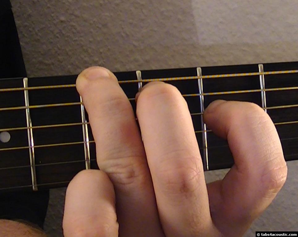 Guitar Chord : Baug