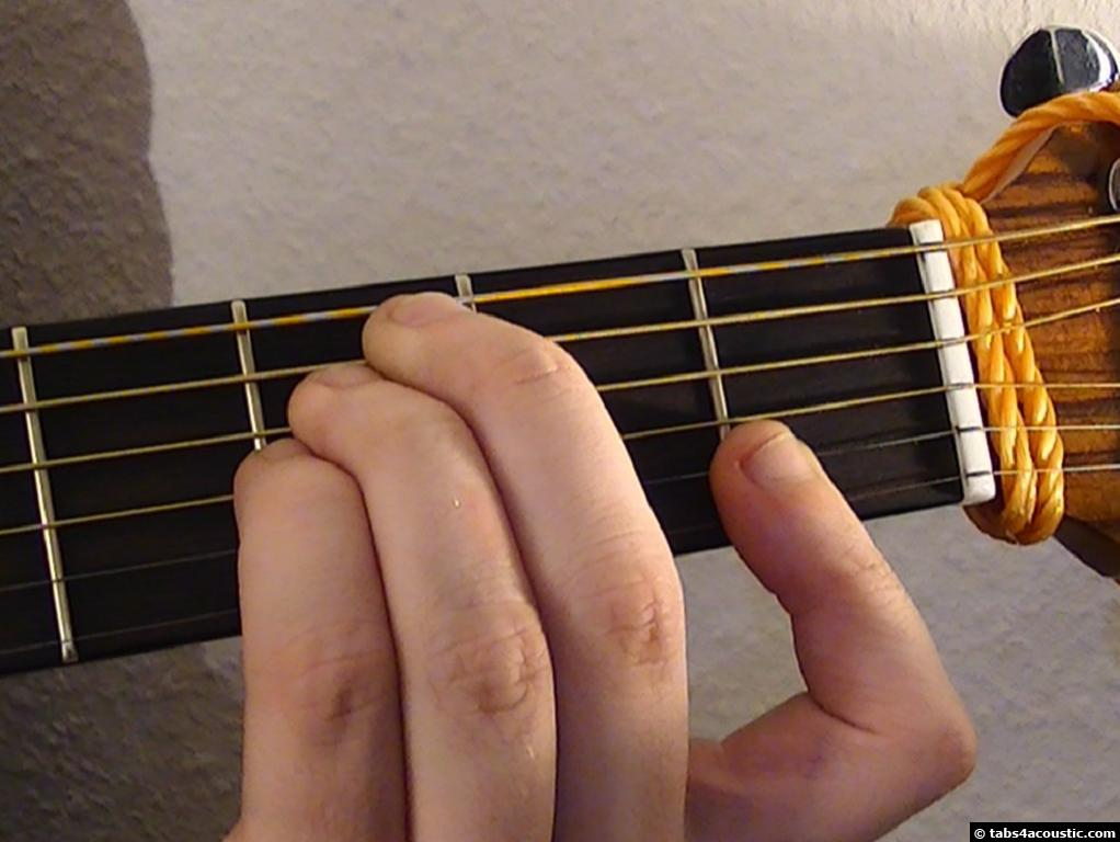 Guitar Chord C7sus4
