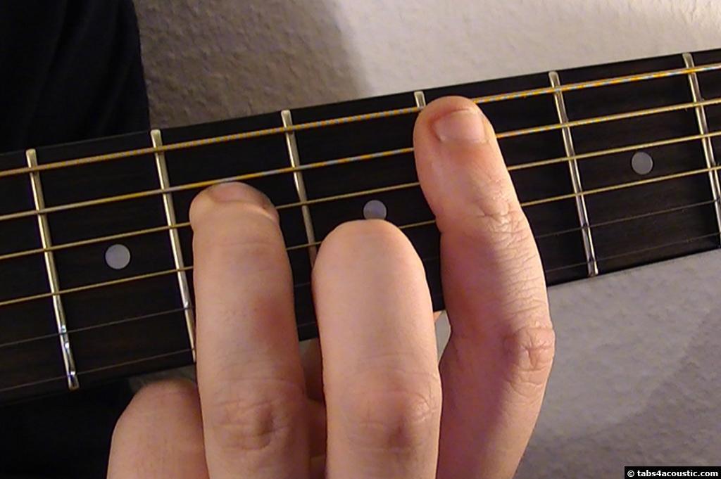 Guitar Chord Cm7