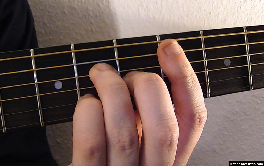 Guitar Chord Cmaj7