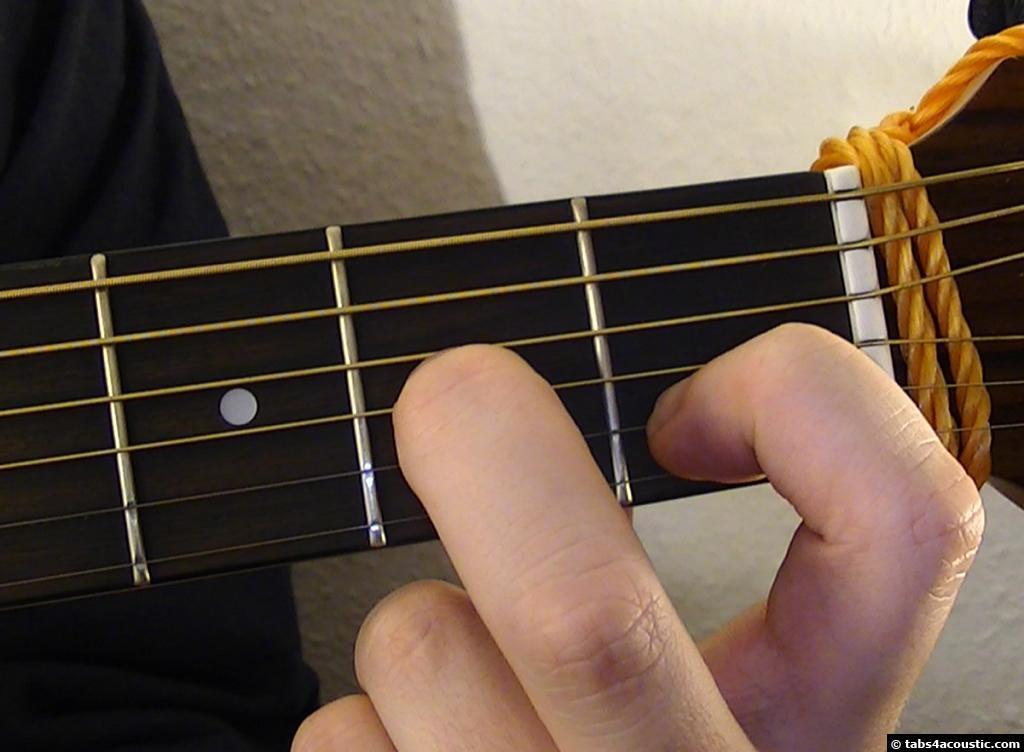 Guitar Chord D9