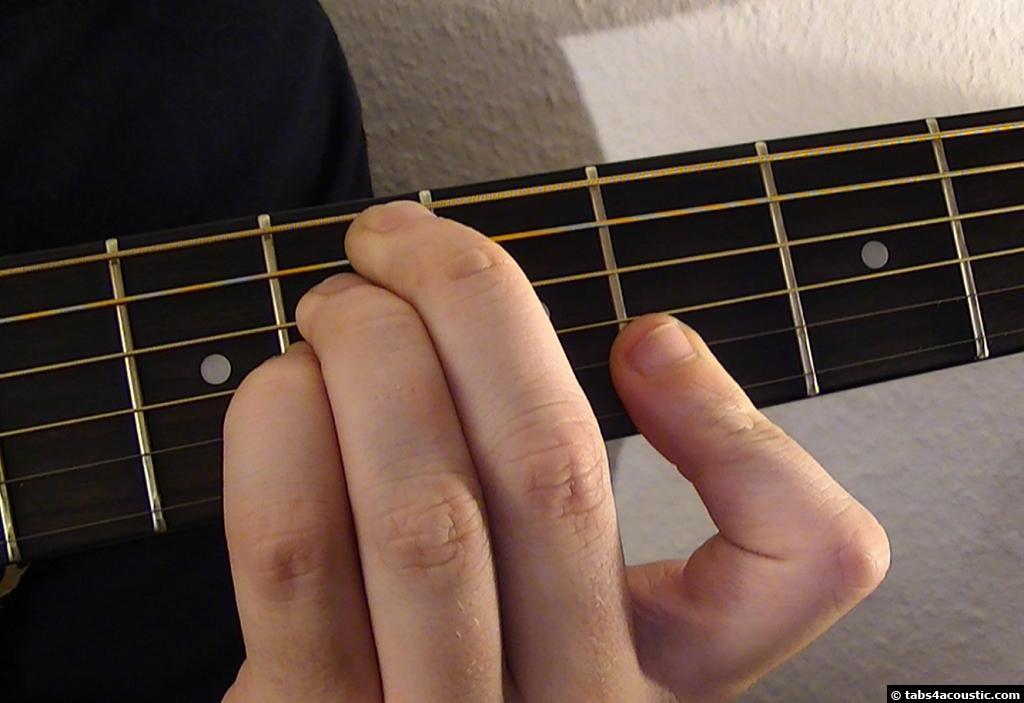 Guitar Chord D7sus4