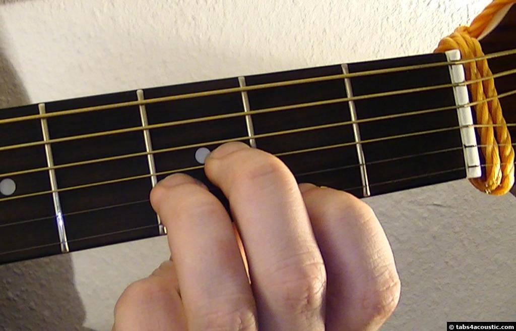 Guitar Chord : Daug