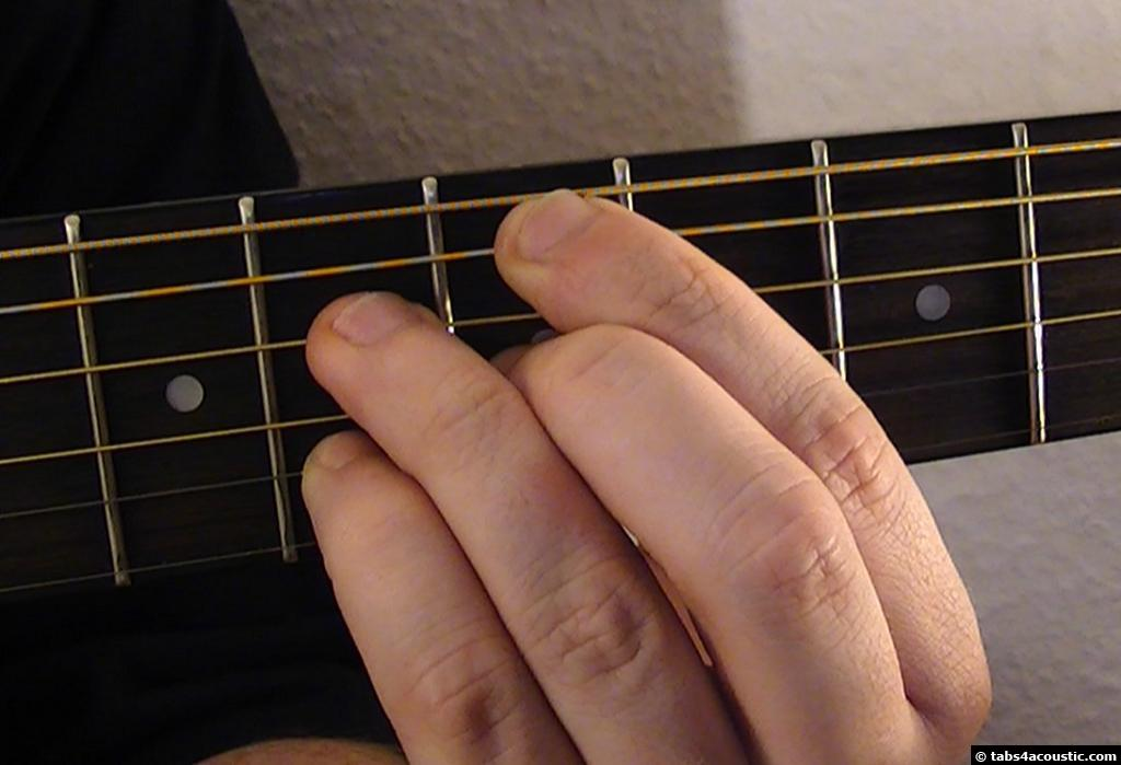 Guitar Chord Em7b5