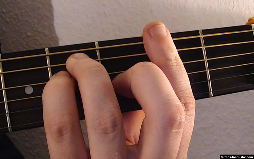 One Headlight Guitar Tab, The Wallflowers