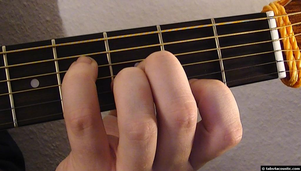 Guitar Chord : F#aug