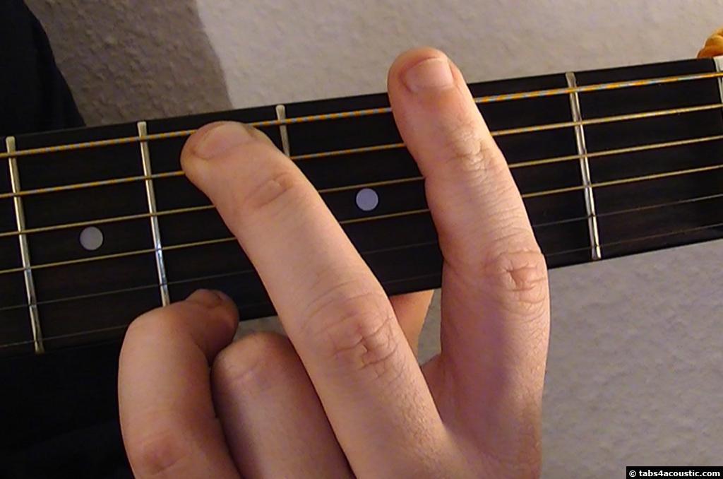 Guitar Chord Fm9