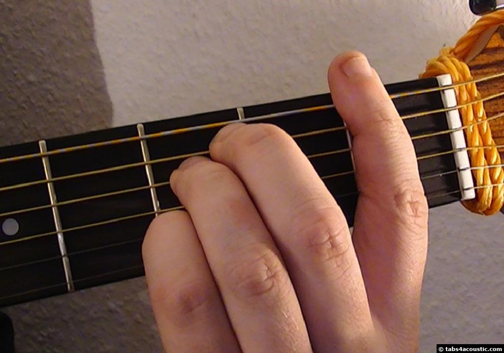Guitar Chord Fm6
