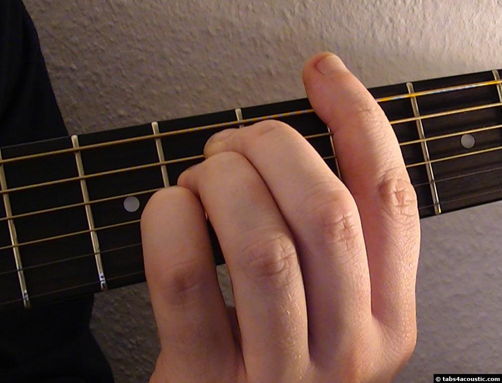 Something In The Way Guitar Tab Nirvana