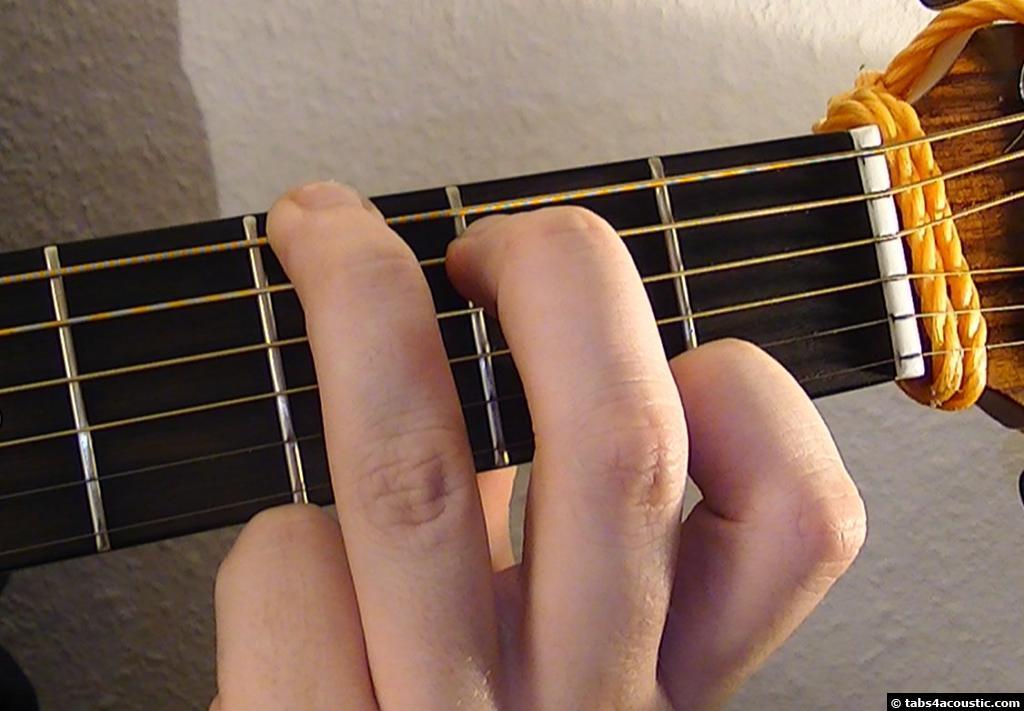 Guitar Chord Gmaj7