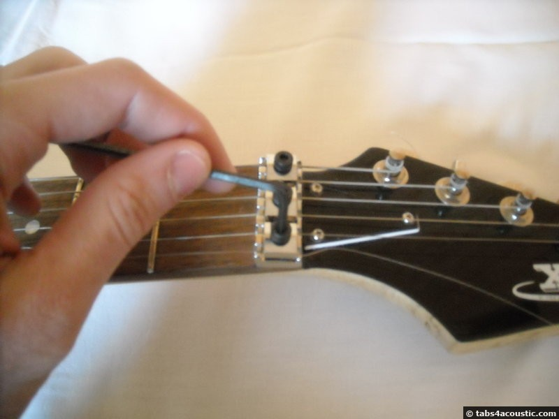 guitare électrique avec floyd