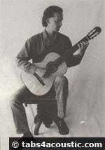 position, tenue guitare classique