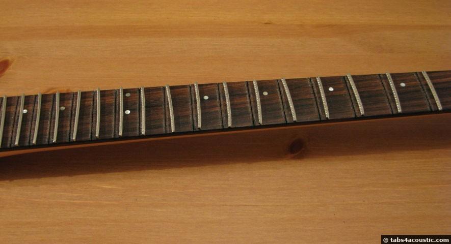 manche guitare sans frettes
