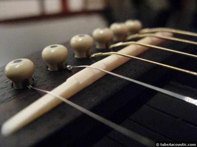 fabrication sillet guitare, résultat