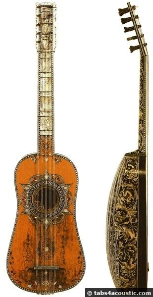 guitare giorgio sellas