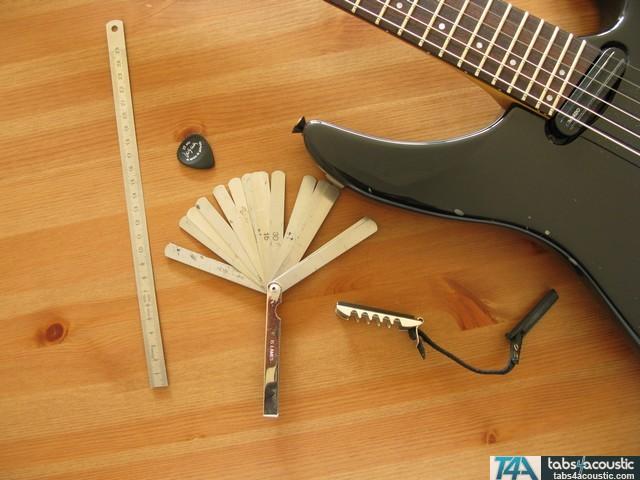 outils guitariste