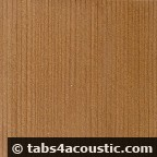 red cedar cedre bois guitare