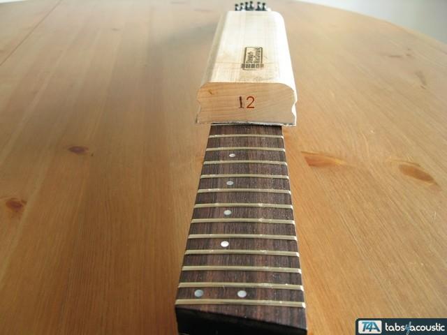surfaçage frettes guitare #3