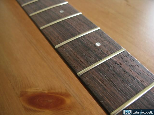 surfaçage frettes guitare #6