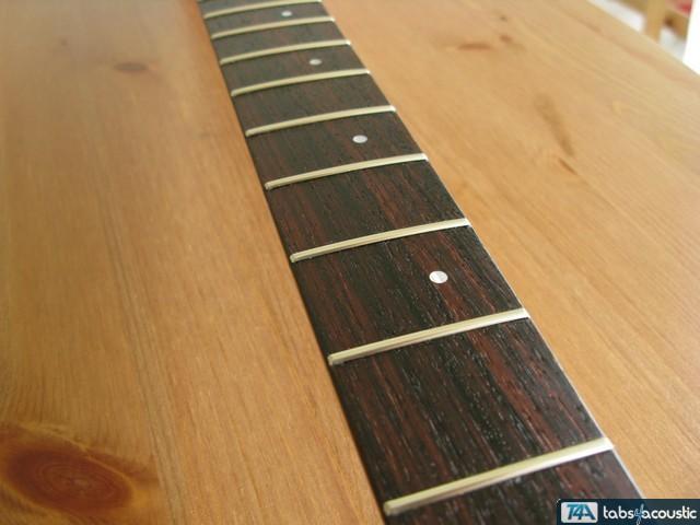 surfaçage frettes guitare #7